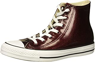 patent leather high top sneakers