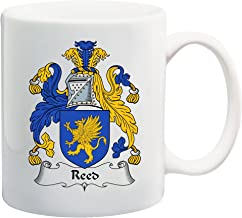 Reed Coat of Arms/Reed Family Crest 11 Oz Ceramic Coffee/Cocoa Mug by Carpe Diem Designs, Made in the U.S.A.