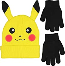 Best pikachu hat with gloves Reviews
