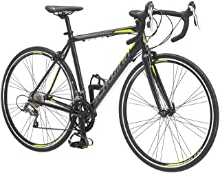 Schwinn Phocus 1400 and 1600 Drop Bar Road Bicycle for Men and Women, Alluminum Frame, 14 or 16-Speed Drivetrain, Carbon F...