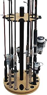 Rush Creek Creations 24 Round Spinning Fishing Rod Rack