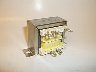 Renco RL-2270-5-24 AC Transformer 24VAC .5A 500MA, 12VAC Center Tap VCT, Quick Slide Terminals, Raw FS