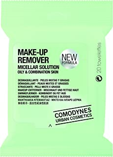 COMODYNES Make-Upr Removers for Face & Eyes - BURDOCK (combination & oily skin