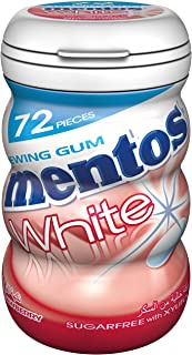 Mentos White Strawberry, 72 Pieces - Pack Of 6, 72 x 6