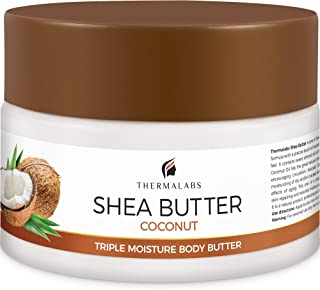 Shea Butter for Body, Stretch Marks Removal Cream: Feel Silky Smooth! Whipped Moisturizer for Dry Skin, Eczema Treatment, Pregnancy Belly Lotion with Natural & Organic Ingredients & Dead Sea Minerals