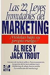 Las 22 Leyes Inmutables Del Marketing Paperback