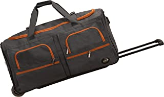 "Rockland 30"" Rolling Duffle, Charcoal (Gray) - PRD330-CHARCOAL"