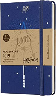 Moleskine Limited Edition Harry Potter 12 Month 2019 Weekly Planner, Hard Cover, Pocket (3.5