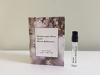 MAISON LOUIS MARIE No.04 Bois de Balincourt Eau de Parfum, Mini.05 oz