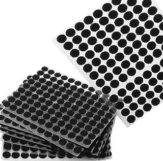 ASelected 2000Pcs Scratch Autocollant Rond 10mm, Petits Scratch Velcros, Pastilles Colle pour des Objets Un Peu Plus Lége...