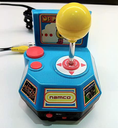 Namco Plug & Play TV Games  Ms Pac Man, Pole Position, Galaga, Xevious, Mappy by Jakks Pacific