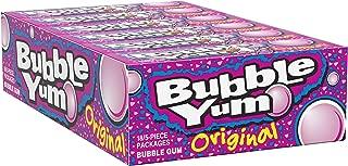 BUBBLE YUM Bubble Gum, Original, 5 Pieces (Pack of 18)