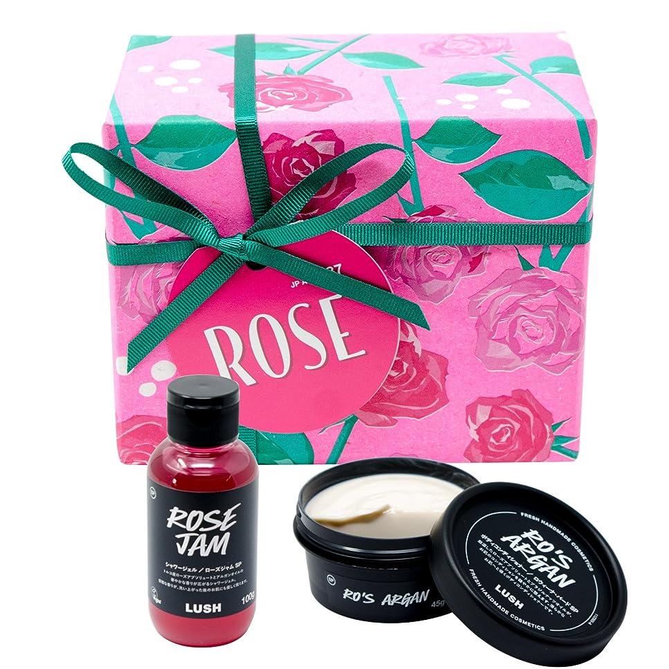 小麦粉叙情的な自治(ラッシュ) LUSH Rose ローズ ギフトセット ショップバッグ付き