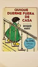Quique Duerme Fuera De Casa/Ira Sleeps over (Spanish Edition)