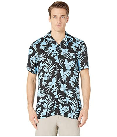 onia Vacation Shirt (Black) Men