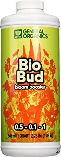 General Hydroponics GH5332 BioBud Bloom Booster, Quart