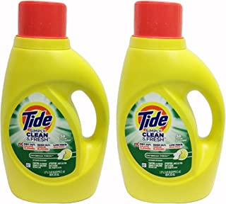 tide simply clean and fresh 60 oz