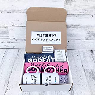 Godparents Gift - Personalized Godparent Box - Will you be My Godparents Box