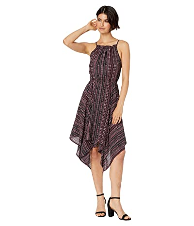 1.STATE Sleeveless Handkerchief Hem Rustic Muses Dress (Island Bloom) Women