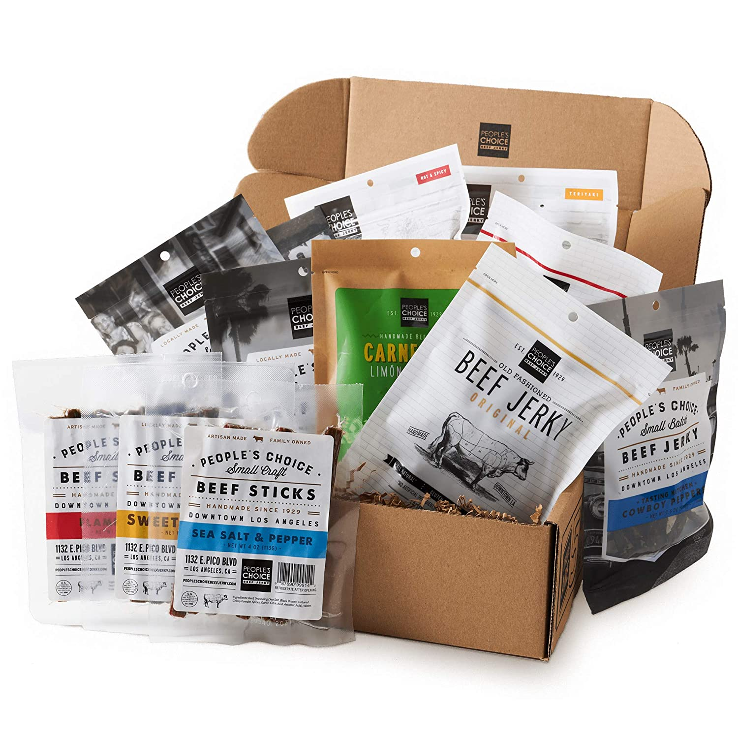People's Choice Beef Jerky - Everything Inexpensive ! Super beauty product restock quality top! Box of One Gif