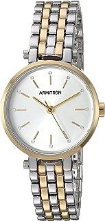 Women's Swarovski Crystal Accented Two-Tone Bracelet Watch