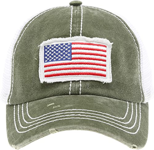 Custom Camo Mesh Trucker Hat Cat Mama Face and Tail Embroidery Cotton One Size