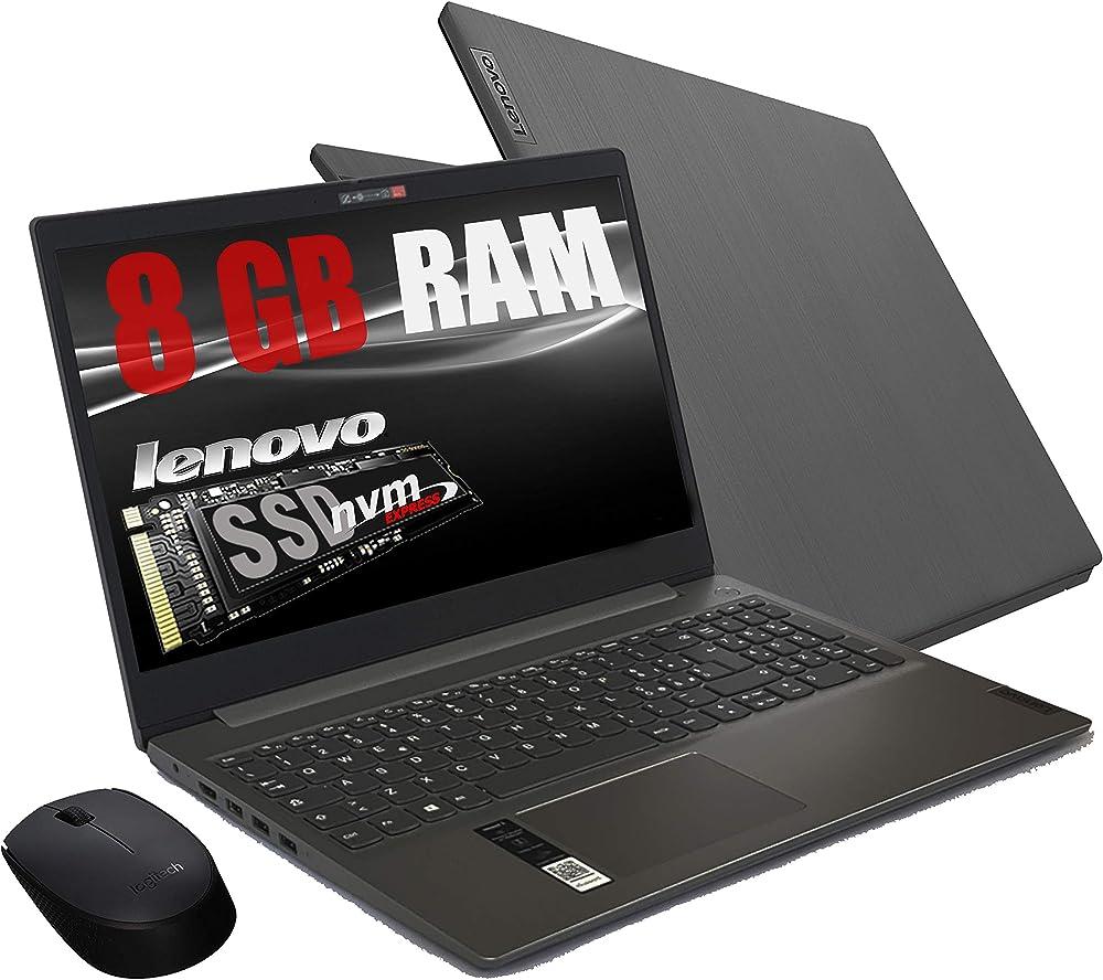 Notebook lenovo,  ram 8 gb ddr4 ssd m.2 pci da 256gb cpu amd a4 3020 new gen, web cam 81W100GEIX/8GB/256GB/W10
