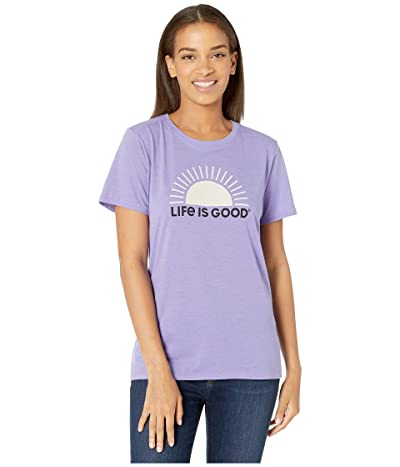 Life is Good Simple Sun Cool Teetm (Moonstone Purple) Women