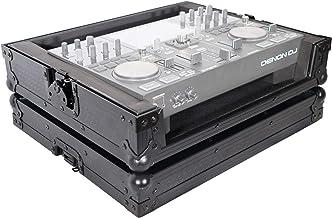 ProX X-PRIMEGO BL ATA Style Flight Travel Case for Denon DJ Prime Go Digital Controller - Black On Black Design