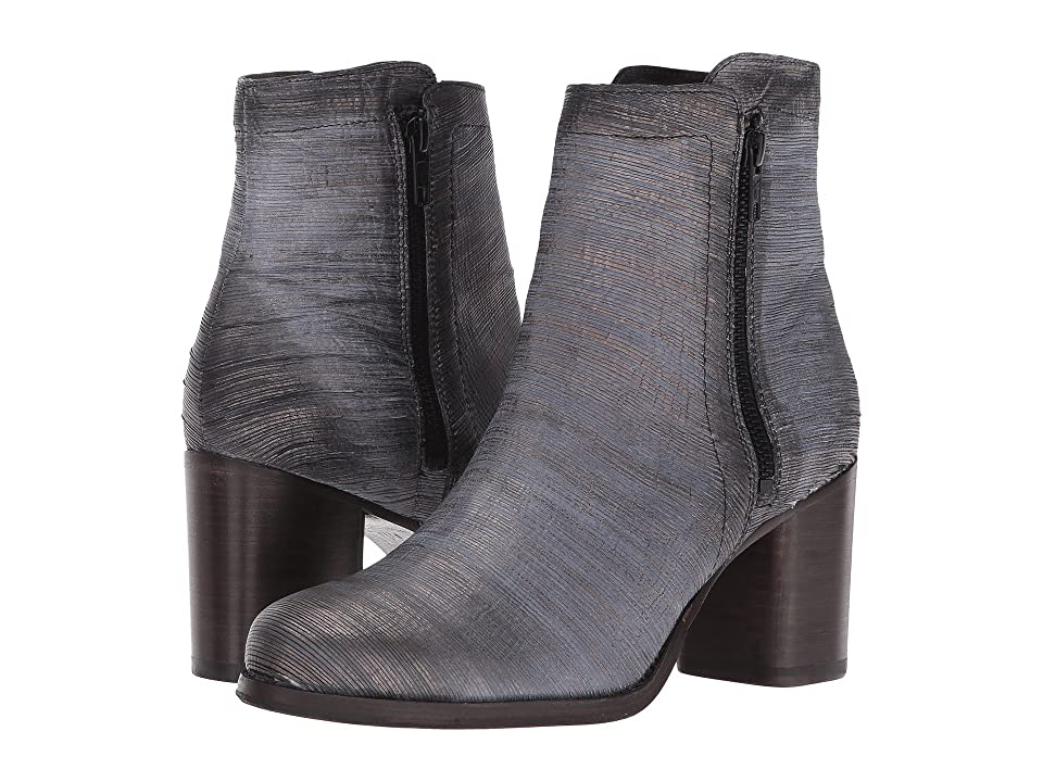 Frye Addie Double Zip (Pewter) Women