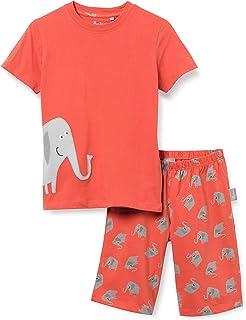 Sigikid SIGIKID Mini-Jungen Nightwear, 2-teiliger Pyjama aus Bio-Baumwolle für Kinder jongens Pyjamaset
