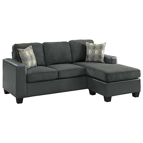Reversible Chaise Sectional Amazon Com