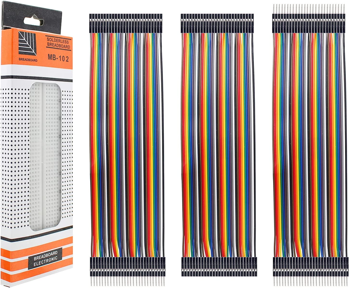Yetaida 120pcs 25% OFF Multicolored Dupont Wire+Breadboard Jumper Genuine Free Shipping Ribbo