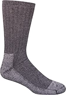 Men's Work Gear Crew Socks with Arch Support   Breathable & Lightweight   2 Pack Socks