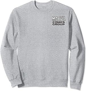 Marvel Comics Group Left Chest Logo Sweatshirt