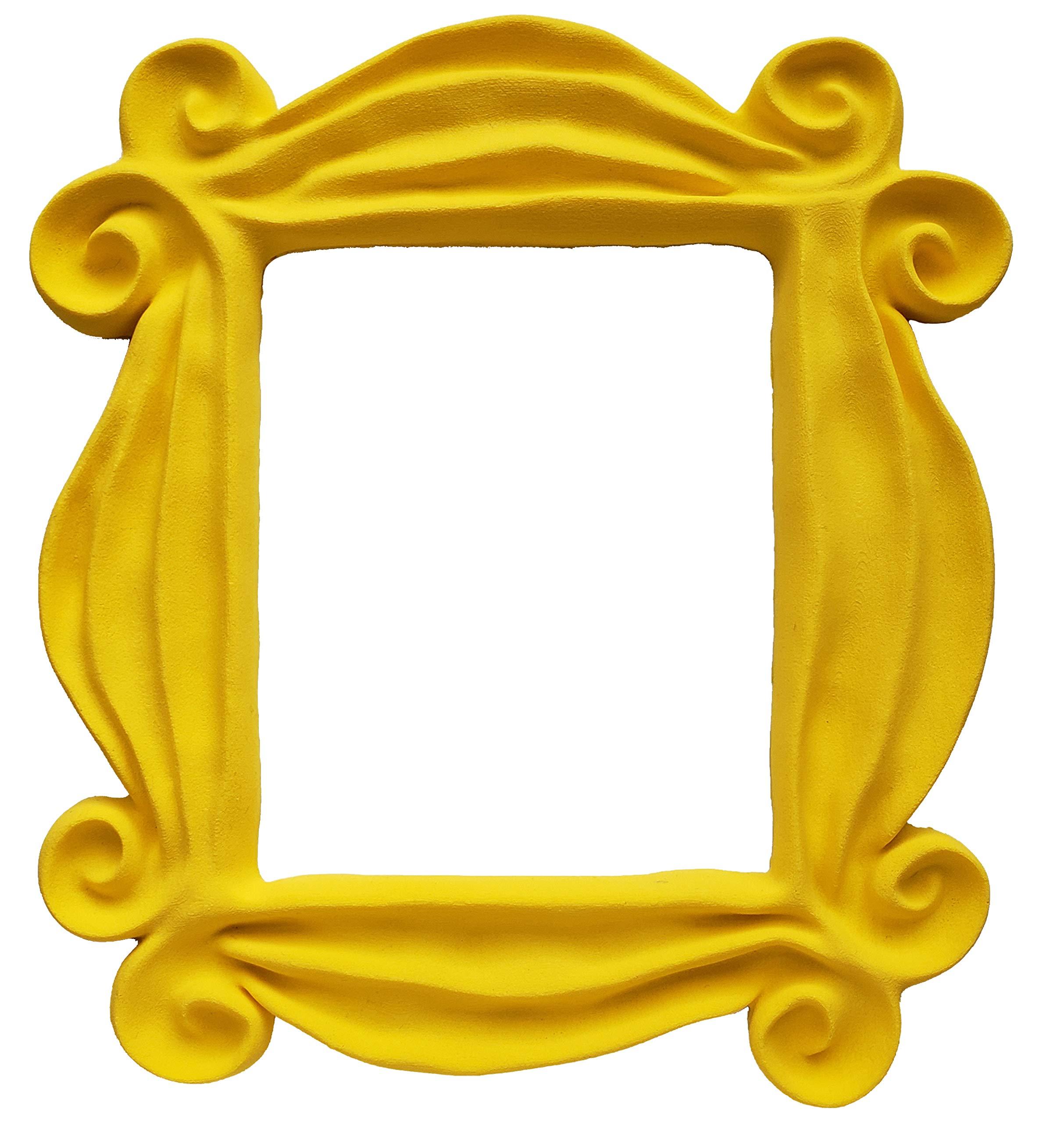 Friends Tv Show Yellow Peephole Frame