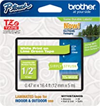 Brother Genuine P-Touch TZE-MQG35 Tape, 1/2