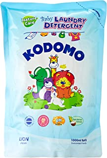 Kodomo Baby Laundry Detergent Refill, Nature Care, 1L