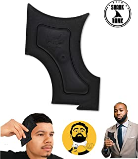 The Cut Buddy - As Seen On Shark Tank - Beard Shaping Tool, Hair Trimmer Guide, Mens Beard Template Tool, Goatee Liner, Mustache Styling Shaper, Neck Shave Grooming Guide, Lineup Shaver Guard Stencil