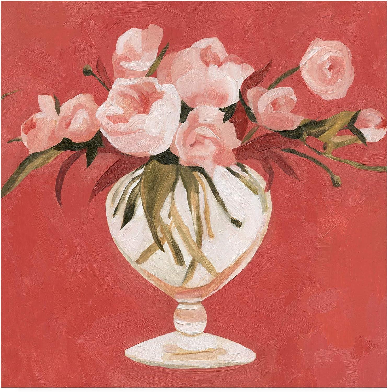 Trademark Fine Art Bright Blooms II by Emma Scarvey, 14x14