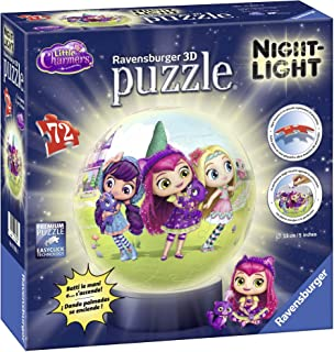Ravensburger Italia 11832–Puzzle 3D lámpara Nocturna Little Charmers