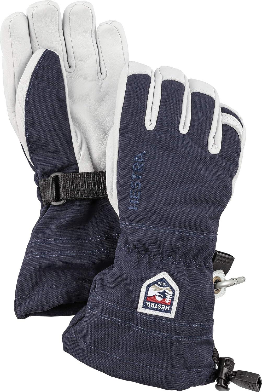 Hestra Army Leather Heli Ski 5-Finger S Junior Weekly update Classic - Atlanta Mall
