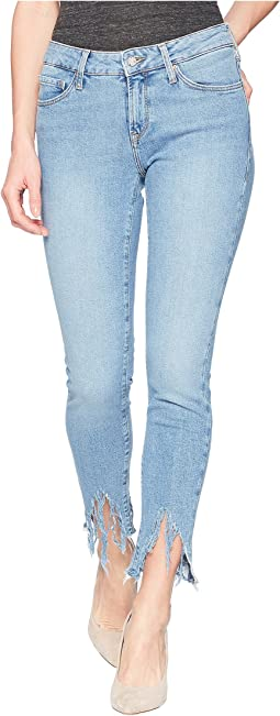 Mavi Jeans - Adriana Mid-Rise Super Skinny Ankle in Light Fringe 90s
