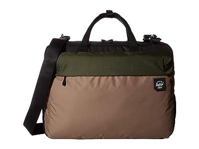 Herschel Supply Co. Britannia (Dark Olive Multi) Messenger Bags