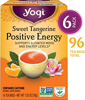 yogi tea refreshing mint vital energy