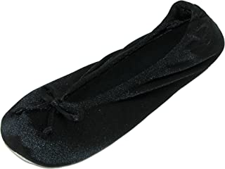 Women's Satin Classic Ballerina Slippers (Pack of 2)