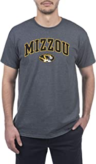 NCAA Mens Short Sleeve T-Shirt Charcoal Gray Arch