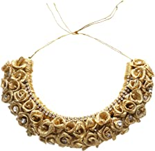 Aakarshana jewels Floral Crown Hair Accessories Bridal Headpiece Festivals Hair Band