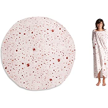 KANGURU Piadina Blanket Coperta, Microfibra, Beige, Taglia Unica