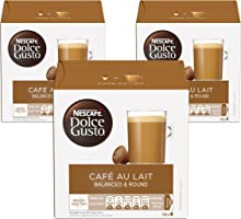 Nescafe Dolce Gusto Cafe Au Lait Coffee Capsules (48 Capsules)